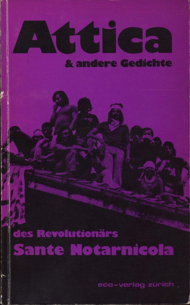 Attica tedesco Prime poesie Deutsche Erstausgabe 1978